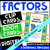 Factors Pick, Flip and Check Cards [Australian UK NZ Edition]