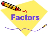 Factors Presentation -  explaing what is a factor