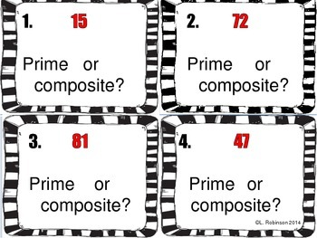Factors, Prime and Composite Scoot Activity