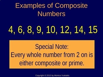 Common Core 4th & 5th - Factors, Primes & Composites