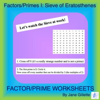 Factors/Primes I: Sieve of Eratosthenes