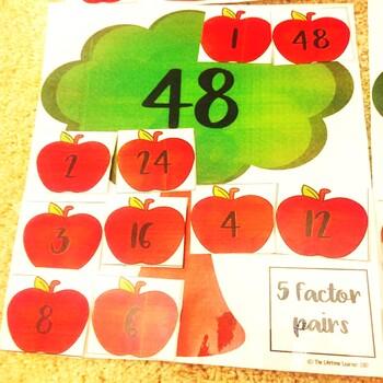 Factors September Math Center