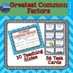 Factors Task Card Bundle