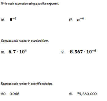 Factors and Fractions Pre-Algebra Chapter 4 Test Editable