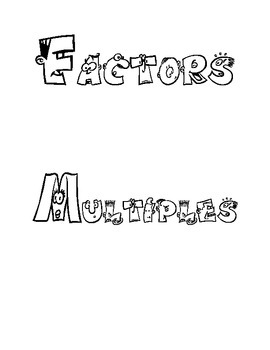 Factors and Multiple Cartoon Letters