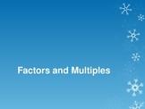 Factors and Multiples 4OA4
