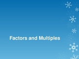 Factors and Multiples 4OA4