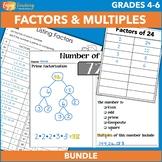 Factors and Multiples Activities Bundle 4.OA.B.4