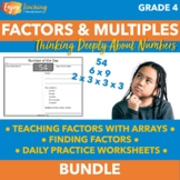 Factors and Multiples Activities Bundle 4.OA.B.4