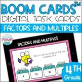 Factors and Multiples BOOM CARDS™ Digital Task Cards