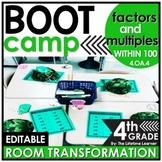 Factors and Multiples    4th Grade Boot Camp Classroom Tra