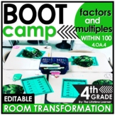 Factors and Multiples  | 4th Grade Boot Camp Room Transformation