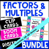 Factors and Multiples Bundle [Australian UK NZ Edition]