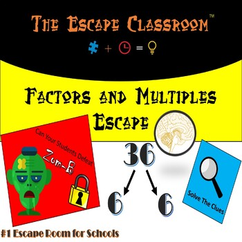 Factors and Multiples Escape Room | The Escape Classroom