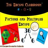 Factors and Multiples Escape Room   The Escape Classroom