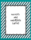 Factors and Multiples Game