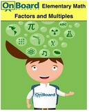 Factors and Multiples-Interactive Lesson