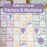 Factors and Multiples | KaBoom Cards