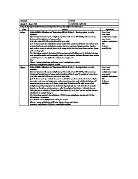 Factors and Multiples Lesson Plans and Printable worksheets