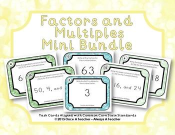 Factors and Multiples - Mini Bundle