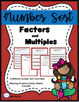 Factors and Multiples Number Sort