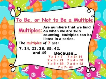 Factors and Multiples PPT
