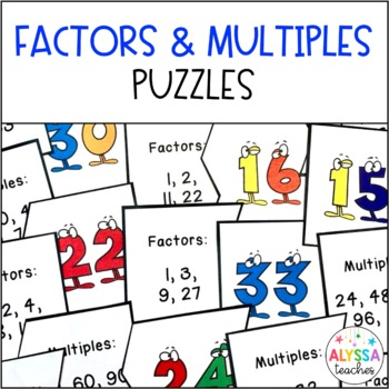 Factors and Multiples Puzzles