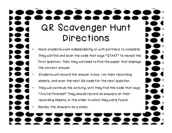 Factors and Multiples QR Scavenger Hunt and Scoot Game
