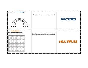 Factors and Multiples Unit