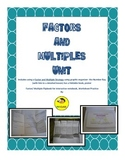 Factors and Multiples Unit