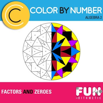 Factors and Zeroes Color by Number