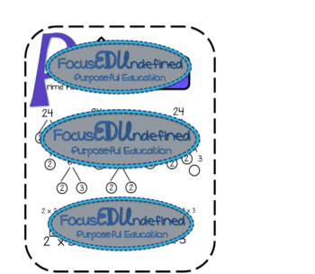 Factors, multiples, GCF, LCM, Prime Factorization
