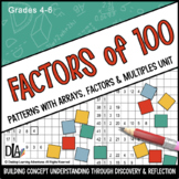 Factors of 100 – Patterns with Arrays, Factors and Multiples Unit