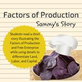 Factors of Production - Sammy's Story