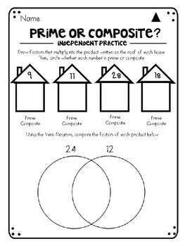 Factors of a Product (and introduction to prime/composite)
