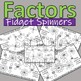 Factors of numbers 1 - 50: Fidget Spinner designers, fun, creative and exciting