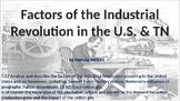 Factors of the Industrial Revolution in the U.S. & TN (4.5