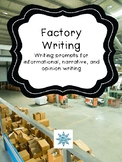 Factory Field Trip Writing