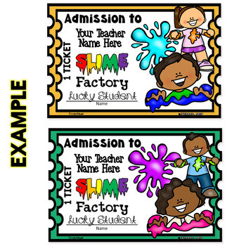 Factory of Slime (Reward Tickets)