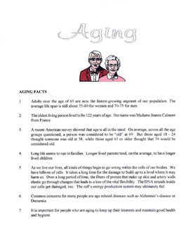 Facts About Aging & Growing Older Lesson