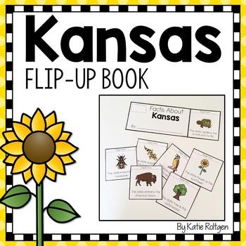 Facts About Kansas Flip Book {Kansas Day Activity}