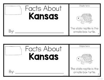 Kansas Flip-Up Book {Kansas Day Activity}