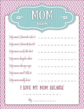 Facts About Mom