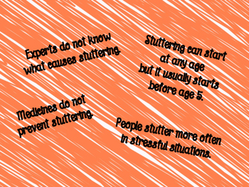 Facts About Stuttering Posters