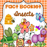Insect Fact Booklet with Digital Activity