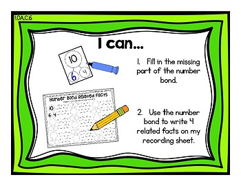 Facts I Know {Common Core Math Resources}