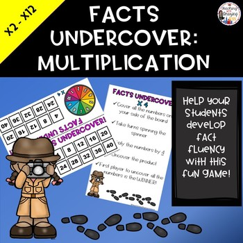 Facts Undercover:  Multiplication
