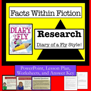 """Facts Within Fiction Research--                     """"Diary of a Fly"""" Style!"""