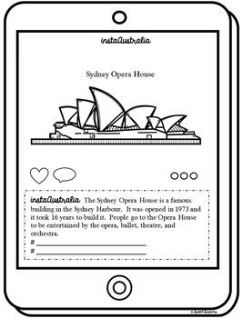 Australia Country Study {Elementary Social Studies Booklet} Instagram