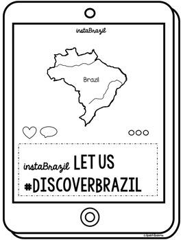 Brazil Country Study {Supplemental Teaching Materials} Instagram